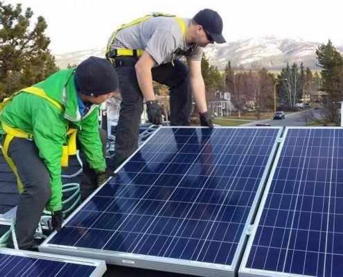 Residential solar employees safety COR